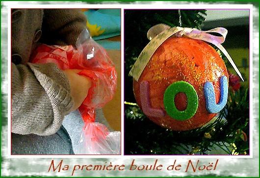 Noel bricolage page 4 - Ma premiere boule de noel ...