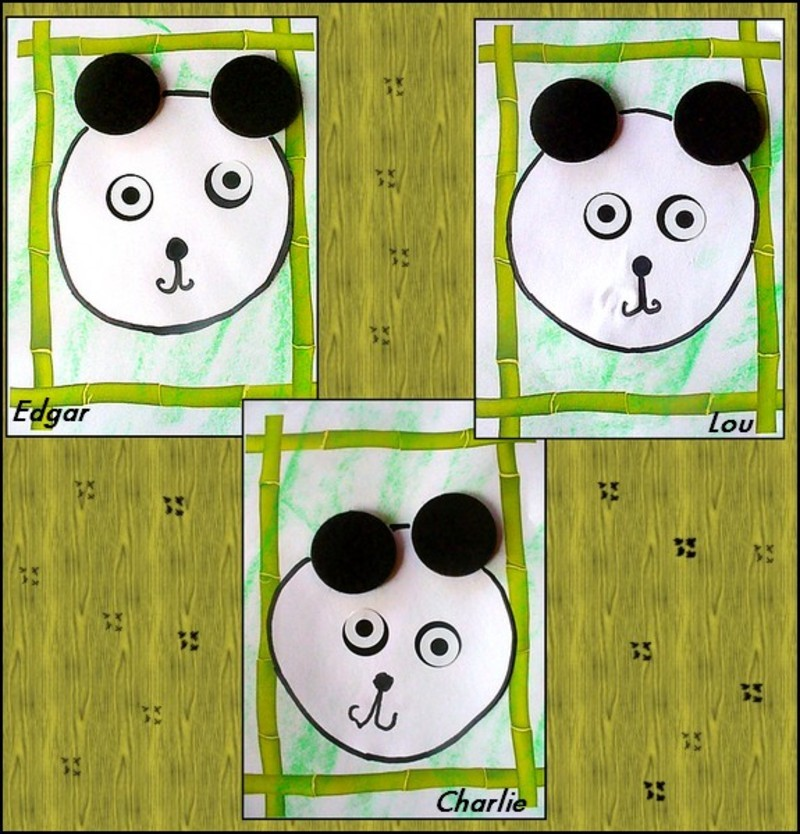 Asie - Coloriage panda maternelle ...